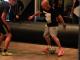 Street king's Edward van Gils take on LA street ballers.