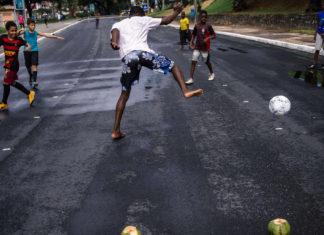 brazil kids street football